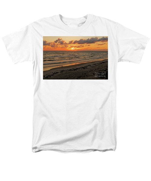 Sunrise Daytona Men's T-Shirt  (Regular Fit) by Paul Mashburn