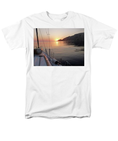 Sunrise On The Aegean Men's T-Shirt  (Regular Fit) by Christin Brodie