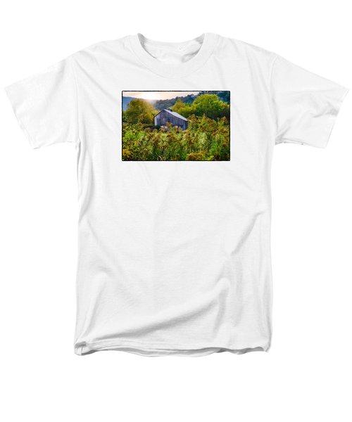Sunrise On The Farm Men's T-Shirt  (Regular Fit) by R Thomas Berner