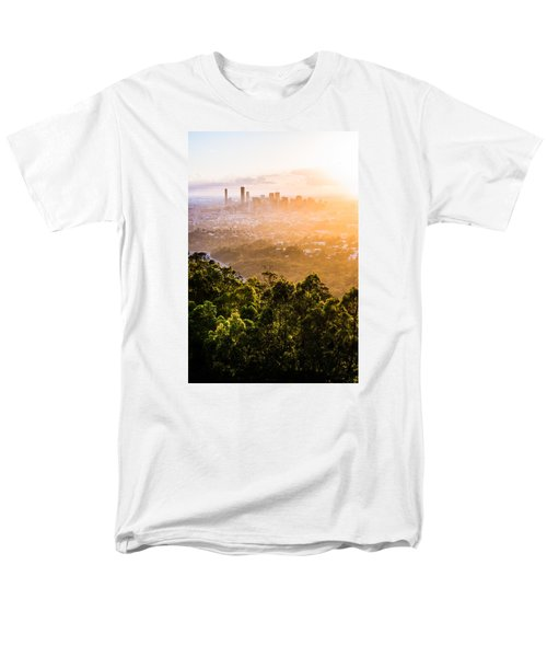 Sunrise Over Brisbane Men's T-Shirt  (Regular Fit) by Parker Cunningham