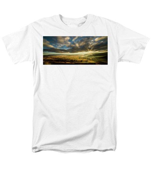 Sunrise Over The Heber Valley Men's T-Shirt  (Regular Fit)