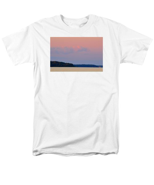 Men's T-Shirt  (Regular Fit) featuring the photograph Sunset Clouds In The East 2  by Lyle Crump