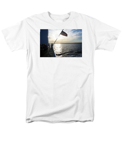 Men's T-Shirt  (Regular Fit) featuring the photograph Sunset Cruise by Margie Avellino