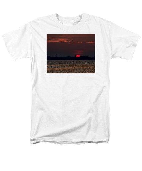 Sunset In Biloxi 3 Men's T-Shirt  (Regular Fit) by Cathy Jourdan