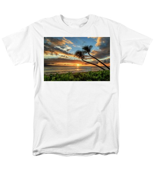 Sunset In Kaanapali Men's T-Shirt  (Regular Fit) by James Eddy
