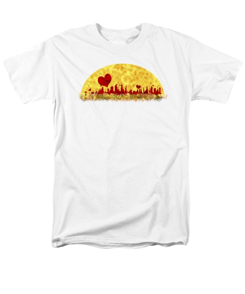 Sunset In The City Of Love Men's T-Shirt  (Regular Fit) by Anton Kalinichev