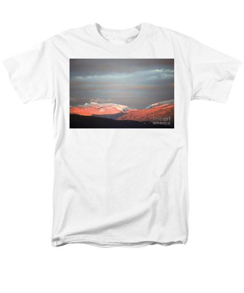 Men's T-Shirt  (Regular Fit) featuring the photograph Sunset On The Monashees by Victor K