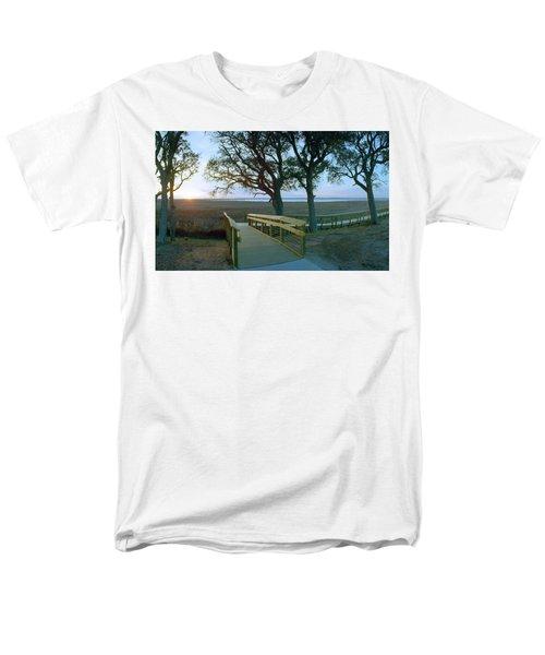 Sunset Over The Sound Men's T-Shirt  (Regular Fit)
