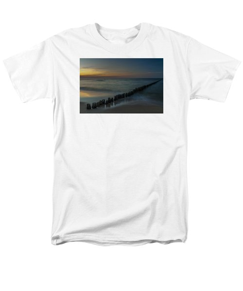 Sunset Zen Mood Seascape Men's T-Shirt  (Regular Fit) by Julis Simo