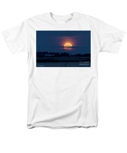 Super Moon Men's T-Shirt  (Regular Fit) by Arik Baltinester