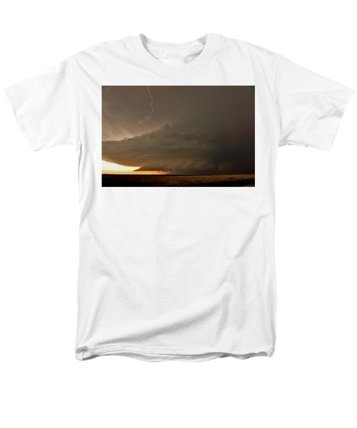 Supercell In Kansas Men's T-Shirt  (Regular Fit) by Ed Sweeney