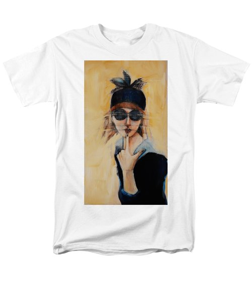 Superficially Evocative Men's T-Shirt  (Regular Fit) by Jean Cormier