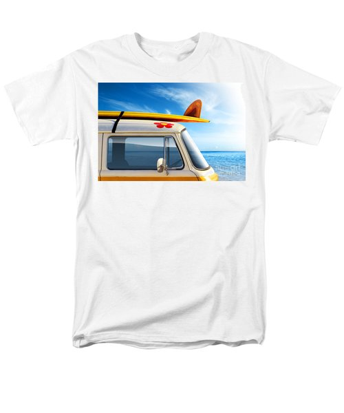 Surf Van Men's T-Shirt  (Regular Fit) by Carlos Caetano