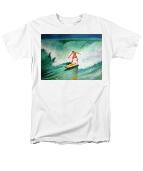 Surfer Dude Men's T-Shirt  (Regular Fit) by Patricia Piffath