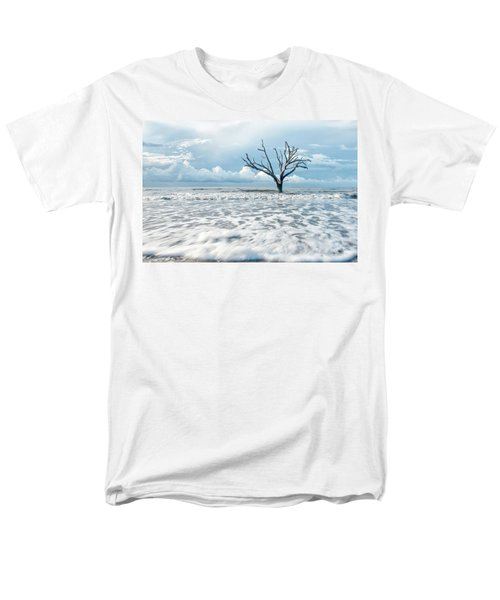 Men's T-Shirt  (Regular Fit) featuring the photograph Surfside Tree by Phyllis Peterson
