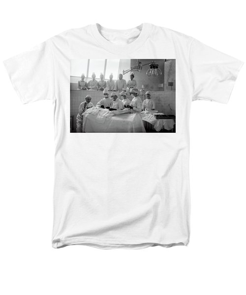 Men's T-Shirt  (Regular Fit) featuring the photograph Surgery Theater C. 1917 by Daniel Hagerman