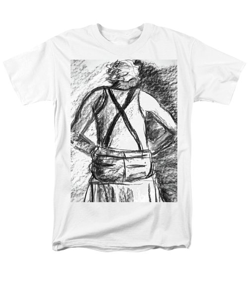 Men's T-Shirt  (Regular Fit) featuring the painting Suspenders by Cathie Richardson
