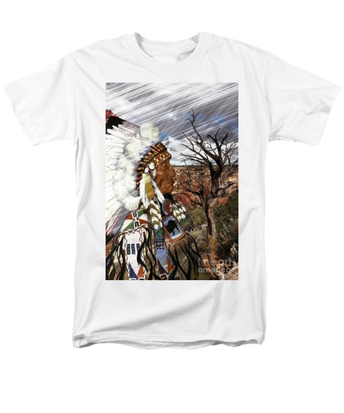 Sw Indian Men's T-Shirt  (Regular Fit) by Liane Wright