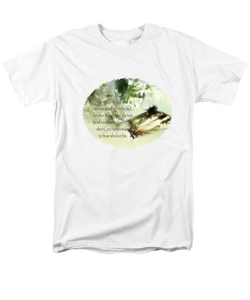 Swallowtail And Lilac Men's T-Shirt  (Regular Fit) by Anita Faye
