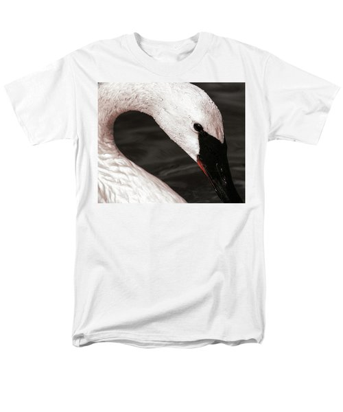 Men's T-Shirt  (Regular Fit) featuring the photograph Swan Neck by Jean Noren