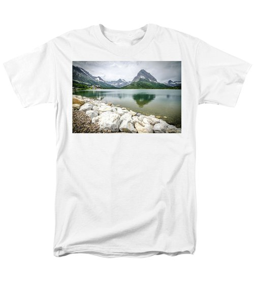 Swiftcurrent Lake Men's T-Shirt  (Regular Fit)
