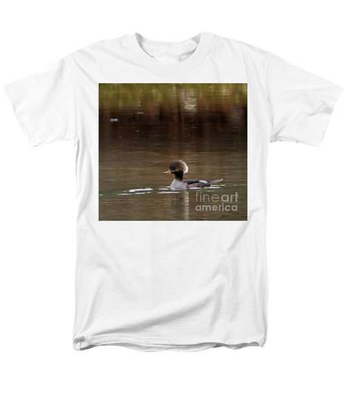 Men's T-Shirt  (Regular Fit) featuring the photograph Swimming Alone by Tamera James