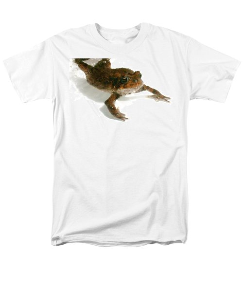Men's T-Shirt  (Regular Fit) featuring the digital art Swimming Toad by Barbara S Nickerson