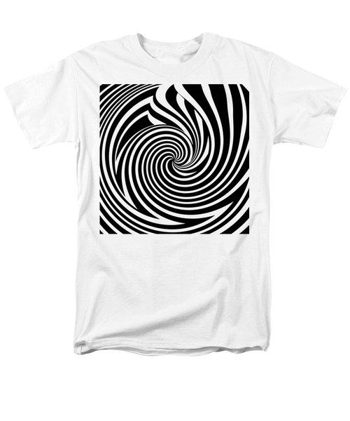 Swirl Op Art Men's T-Shirt  (Regular Fit) by Methune Hively