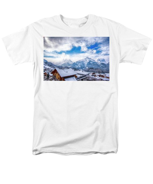 Swiss Alps Men's T-Shirt  (Regular Fit) by Pravine Chester