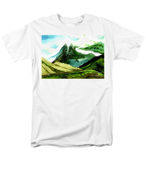 Switzerland Men's T-Shirt  (Regular Fit)
