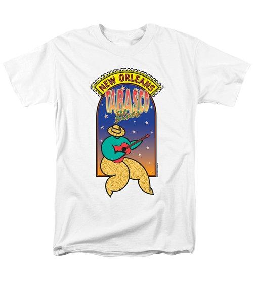 Tabasco Blues Men's T-Shirt  (Regular Fit) by Steve Ellis