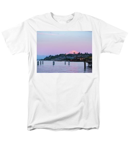 Tacoma Sunset Men's T-Shirt  (Regular Fit) by Ken Stanback
