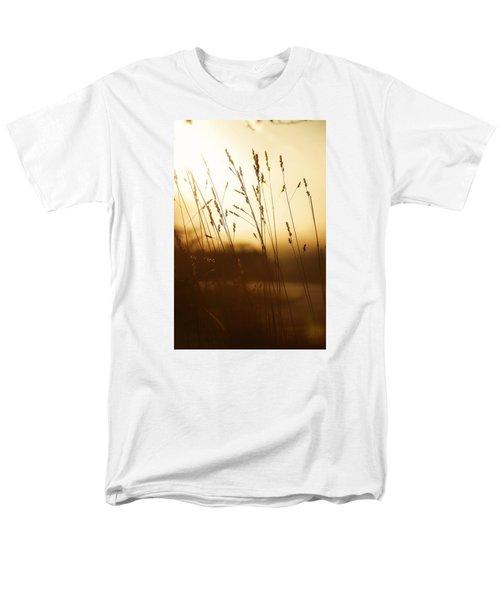Tall Grass In The Morning Men's T-Shirt  (Regular Fit)