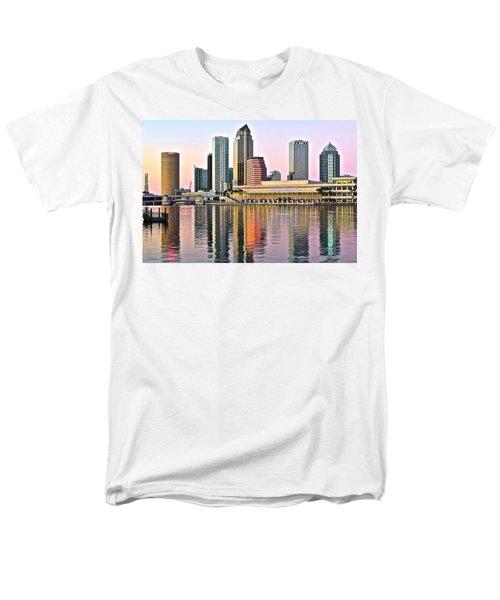 Tampa In Vivid Color Men's T-Shirt  (Regular Fit)