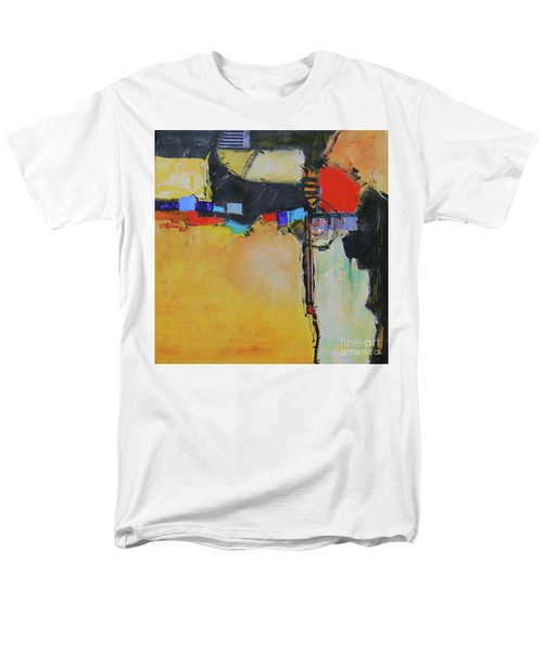 Men's T-Shirt  (Regular Fit) featuring the painting Targeted by Ron Stephens