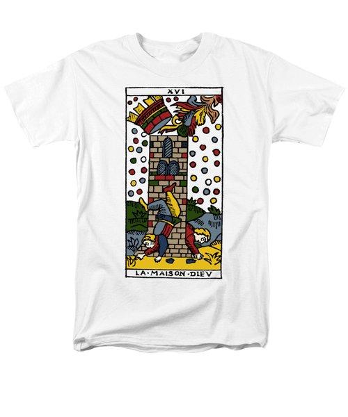 Tarot Card Poorhouse Men's T-Shirt  (Regular Fit) by Granger
