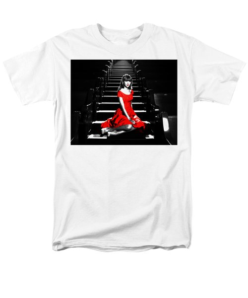 Taylor Swift 8c Men's T-Shirt  (Regular Fit) by Brian Reaves