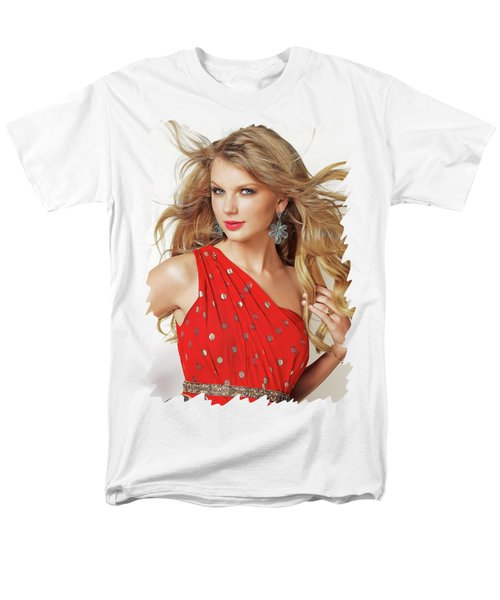 Taylor Swift Men's T-Shirt  (Regular Fit) by Twinkle Mehta
