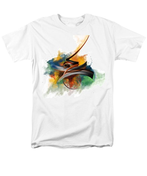 Tc Calligraphy 34 Men's T-Shirt  (Regular Fit) by Team CATF