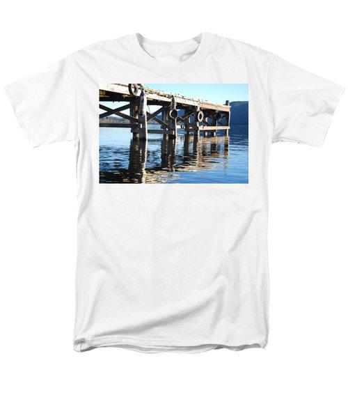 Te Anau Pier Men's T-Shirt  (Regular Fit) by Jocelyn Friis
