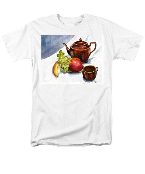 Tea And Fruit Men's T-Shirt  (Regular Fit)