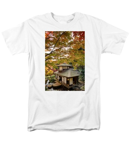 Men's T-Shirt  (Regular Fit) featuring the photograph Tea Ceremony Room by Tad Kanazaki