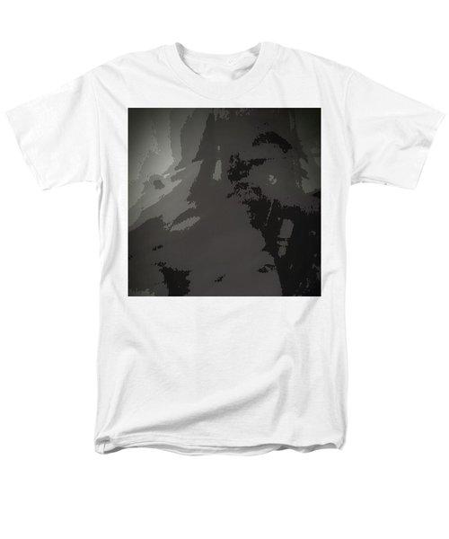 Men's T-Shirt  (Regular Fit) featuring the digital art Tears In Koln When 2016 Came by Carolina Liechtenstein
