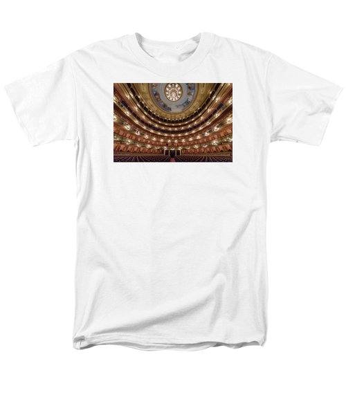 Teatro Colon Performers View Men's T-Shirt  (Regular Fit) by Randy Scherkenbach