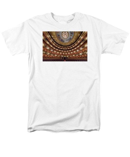 Teatro Colon Performers View Men's T-Shirt  (Regular Fit)