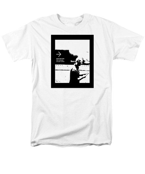 Text Men's T-Shirt  (Regular Fit) by Steve Godleski