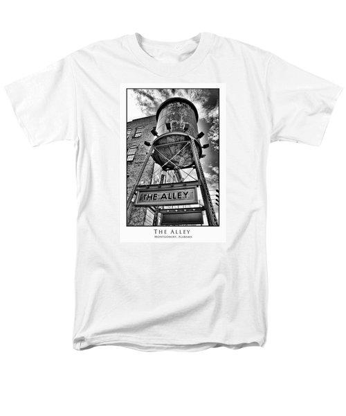 Men's T-Shirt  (Regular Fit) featuring the digital art The Alley  by Greg Sharpe
