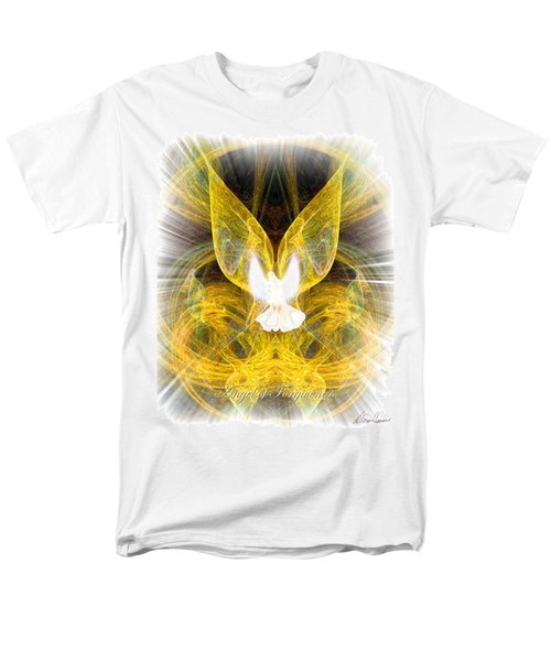 The Angel Of Forgiveness Men's T-Shirt  (Regular Fit) by Diana Haronis