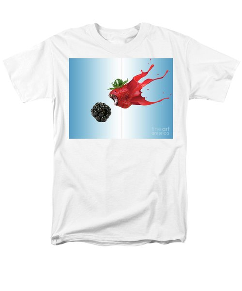 Men's T-Shirt  (Regular Fit) featuring the photograph The Berries by Juli Scalzi
