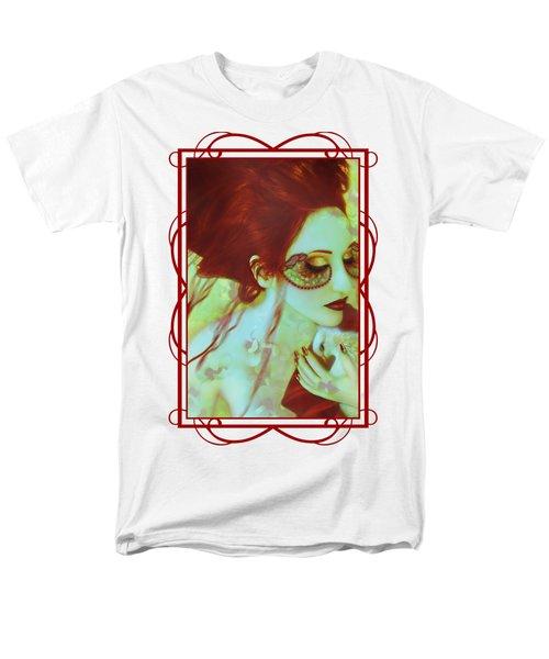The Bleeding Dream - Self Portrait Men's T-Shirt  (Regular Fit) by Jaeda DeWalt